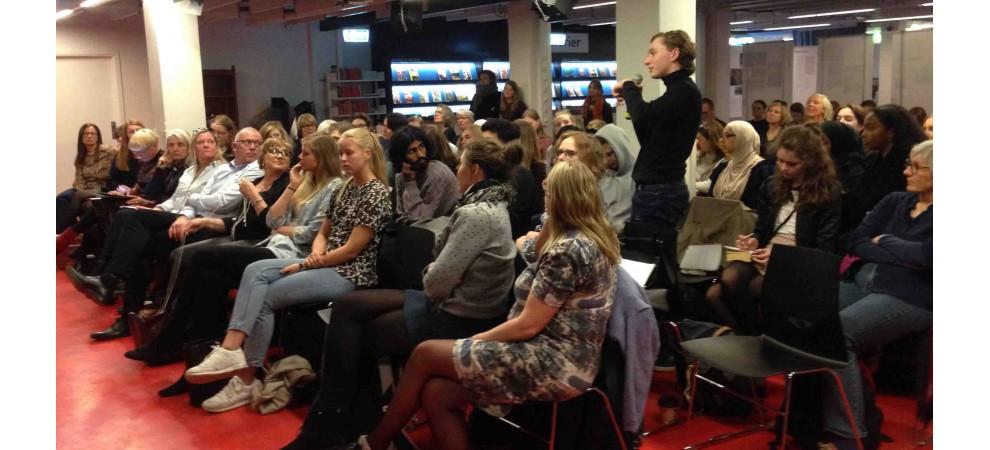 Reportage fra IBBY-fyraftensmøde om etnicitet i litteraturen